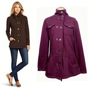 Prana Tori Military Inspired Jacket Size XL